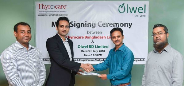 Olwel Teams Up with Thyrocare